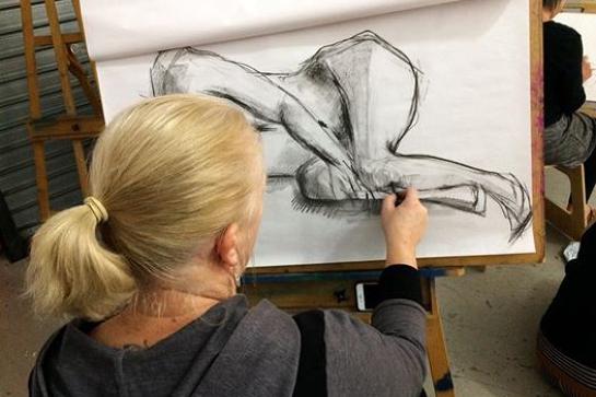 Life Drawing @Crow Street Creative