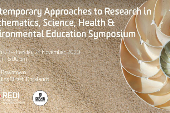Contemporary Approaches to Research in Mathematics, Science, Health & Environmental Education Symposium