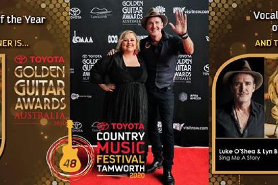 Luke O'Shea & Lyn Bowtell - Love & Laughter at Oodies Bundaberg