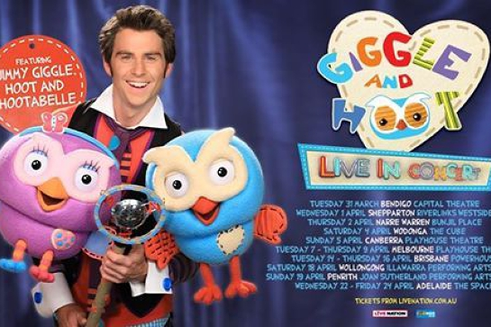 Rescheduling - Giggle and Hoot - Live In Concert | Narre Warren
