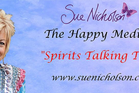 "SUE NICHOLSON ""SPIRITS TALKING TOUR"" - BUNDABERG QLD"