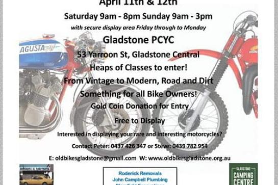 Gladstone All Bike Classic (Apr 11 & 12)