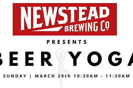 BEER YOGA AT NEWSTEAD BREWING CO.