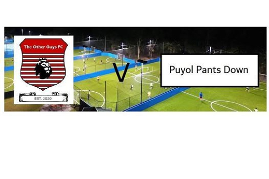 The Other Guys FC vs Puyol Pants Down