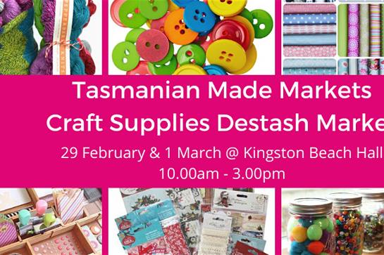 Tasmanian Made Craft Supplies Destash Market