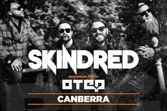 Skindred with guests Otep // The Basement // Canberra // 18+