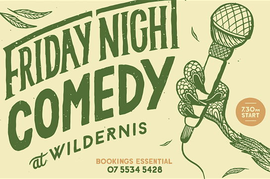 Friday Night Comedy at Wildernis