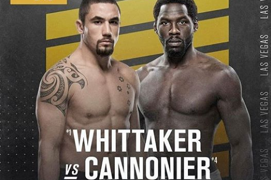 UFC 248 - Whittake vs. Cannonier at Hinterland Hotel