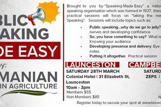 Public Speaking Made Easy! - Launceston