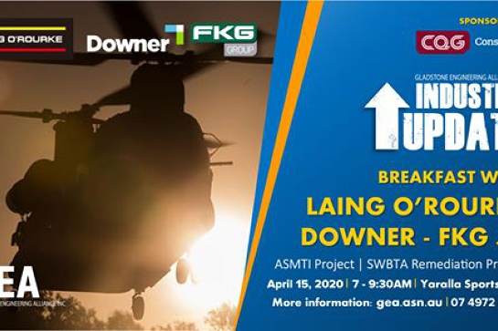 Industry Update Breakfast with Laing O'Rourke & Downer/ FKG JV