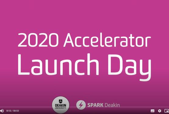 SPARK Deakin Launch Day 2020