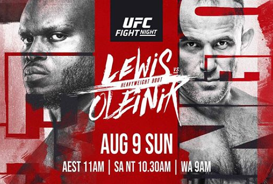 UFC Fight Night | Lewis vs. Oleinik live at the Kingy