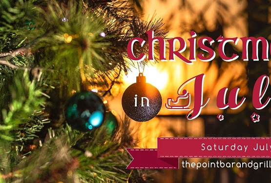 Christmas in July at The Point Bar and Grill