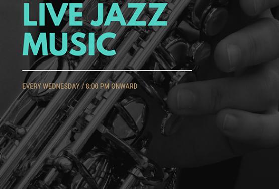 Live Jazz Every Wednesday!