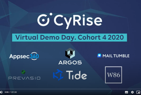 CyRise Virtual Demo Day Cohort 4
