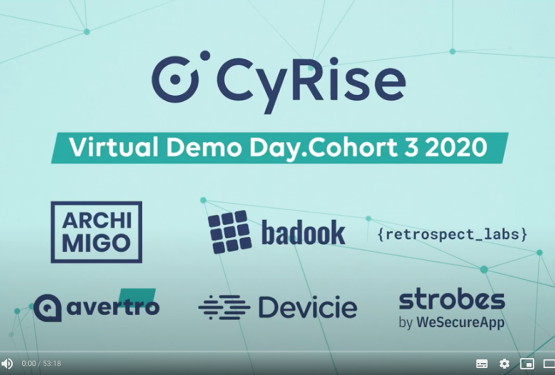 CyRise Virtual Demo Day Cohort 3