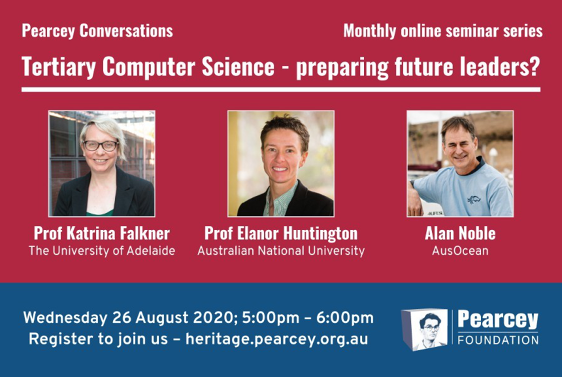 Pearcey Conversations: Tertiary Computer Science - preparing future leaders?