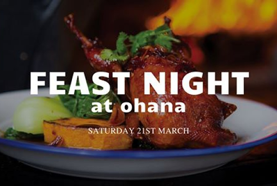 FEAST NIGHT at Ohana