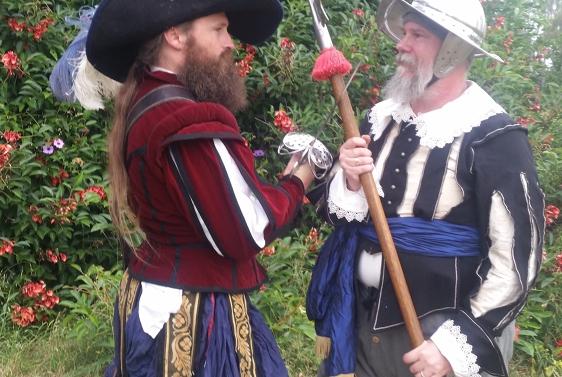 Battle of Hastings Tribute Re-enactment 1066 Medieval Weekend