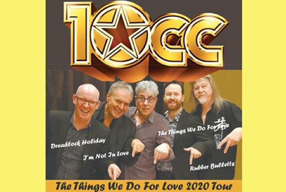 10cc The Things We do For Love Tour 2020